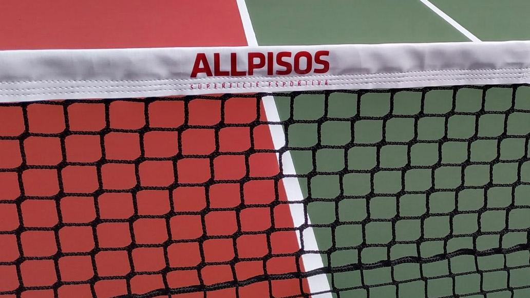 Rede quadra de tenis oficial